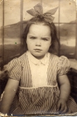 Mom's Billfold - Me at 4yrs